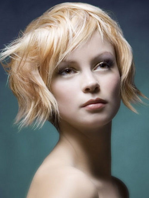 2014 Blonde Hairstyles for Short Hair