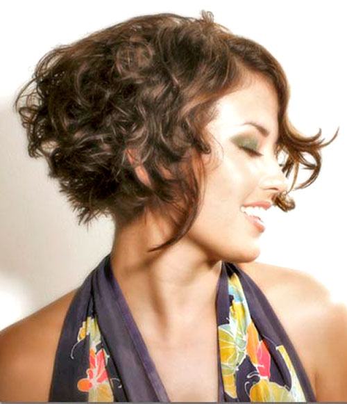 2014 Hairstyles for Curly Short Hair
