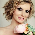 2014 short medium curly hairstyles 150x150 Cute Short Medium Hairstyles 2014