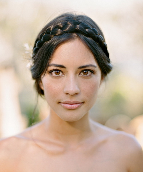 2014 Short Wedding Hairstyles with Braids