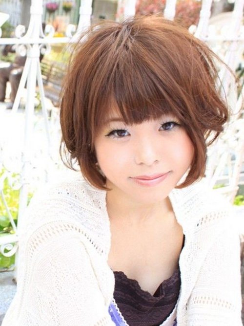 Asian Girls Short Bob Hairstyles