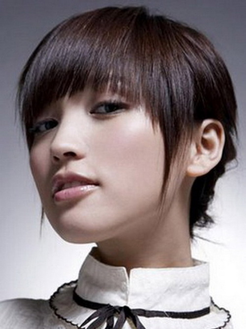 Asian Short Hairstyles 2014