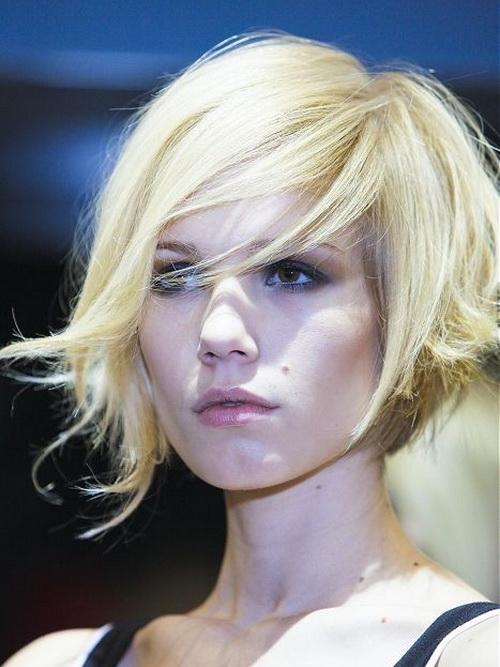 Beautiful Short Blonde Hairstyles 2014