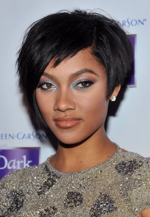 Black Women Prom Hairstyles for Short Hair