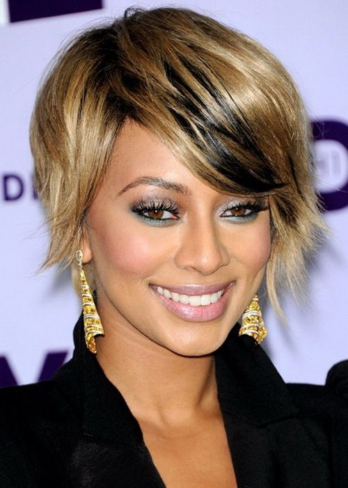 Black Women Straight Hairstyles with Short Hair