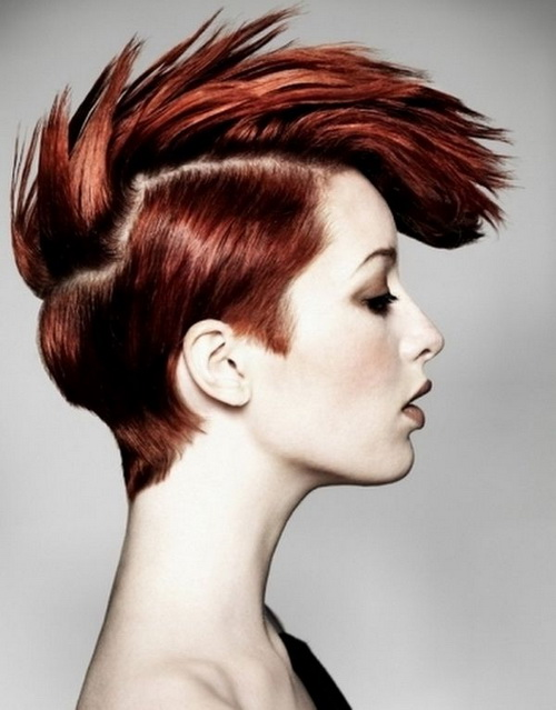 Funky Short Hairstyles 2014
