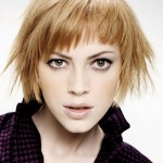 layered hairstyles for short medium hair 150x150 Cute Short Medium Hairstyles 2014