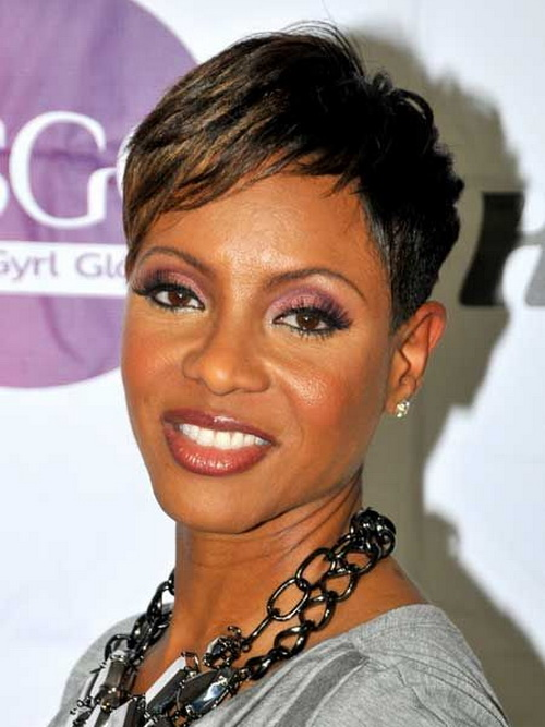 Short African American Hairstyles 2014