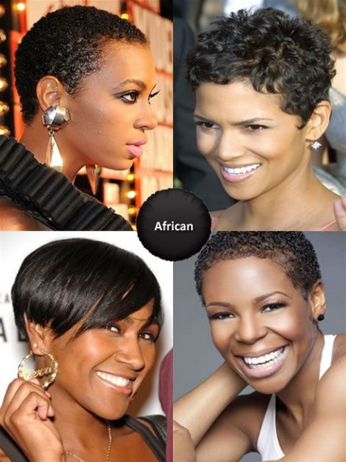 Short African American Hairstyles Ideas