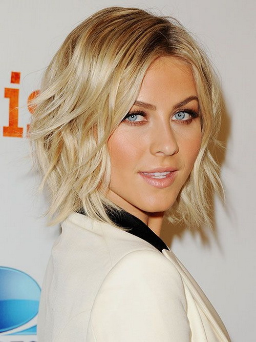 Short Medium Shaggy Hairstyles 2014