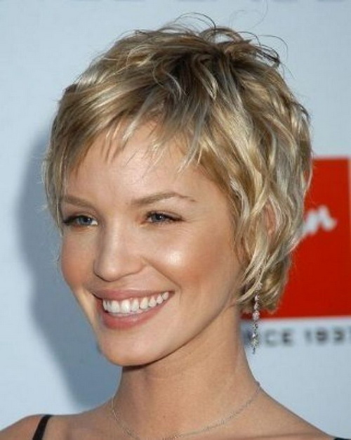 Short Shaggy Hairstyles 2014
