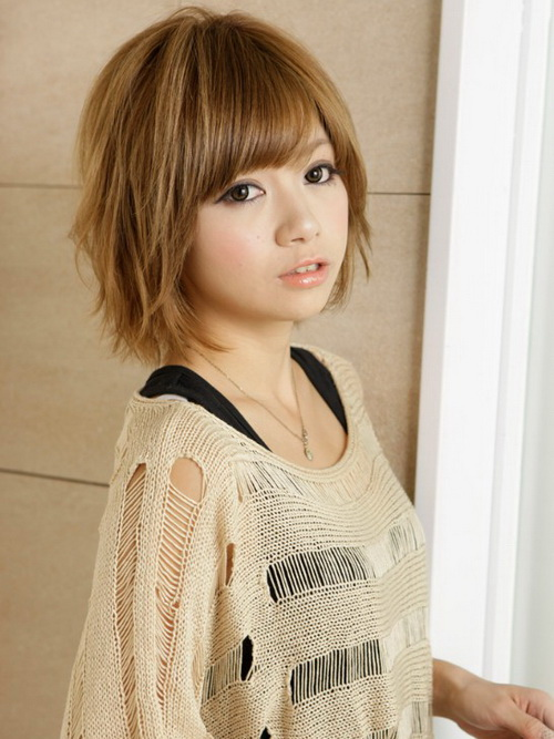 Trendy Asian Short to Medium Hairstyles
