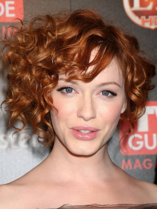 Trendy Hairstyles for Short Curly Hair 2014