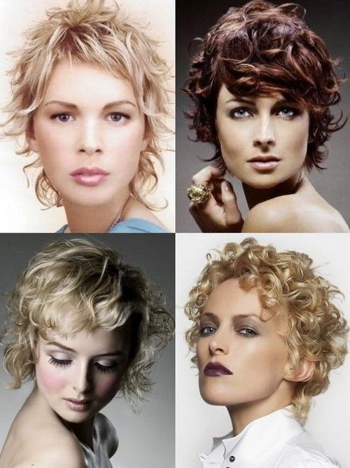 Womens Curly Hairstyles Short Hair Pictures