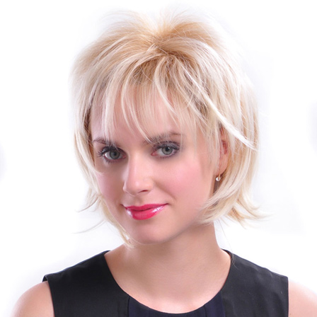 Chin Length Flair Bob short hairstyle