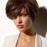 big Short Bob Haircut with bangs 150x150 Choose short hairstyles and look like a diva